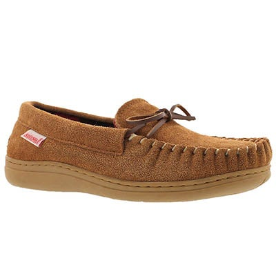 SoftMoc Men's DUSK chestnut suede moccasins