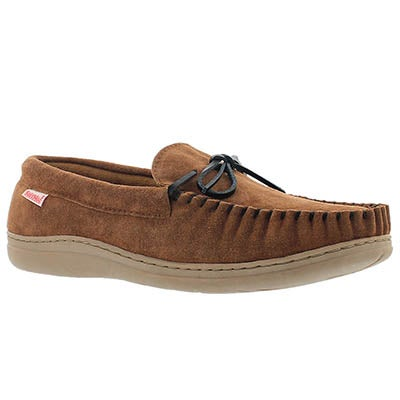 SoftMoc Men's DUSK spice suede moccasins