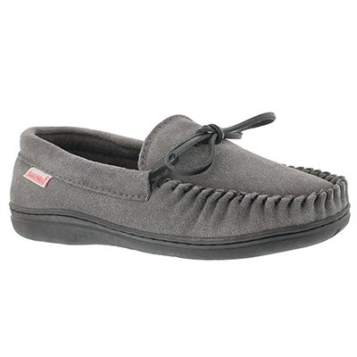 SoftMoc Men's DUSK grey suede moccasins