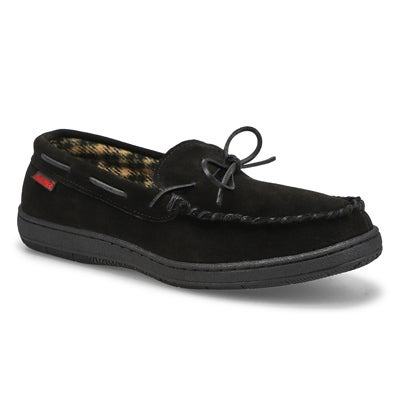 SoftMoc Men's DUSK II black memory foam moccasins