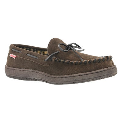 SoftMoc Men's DUSK II birch memory foam moccasins