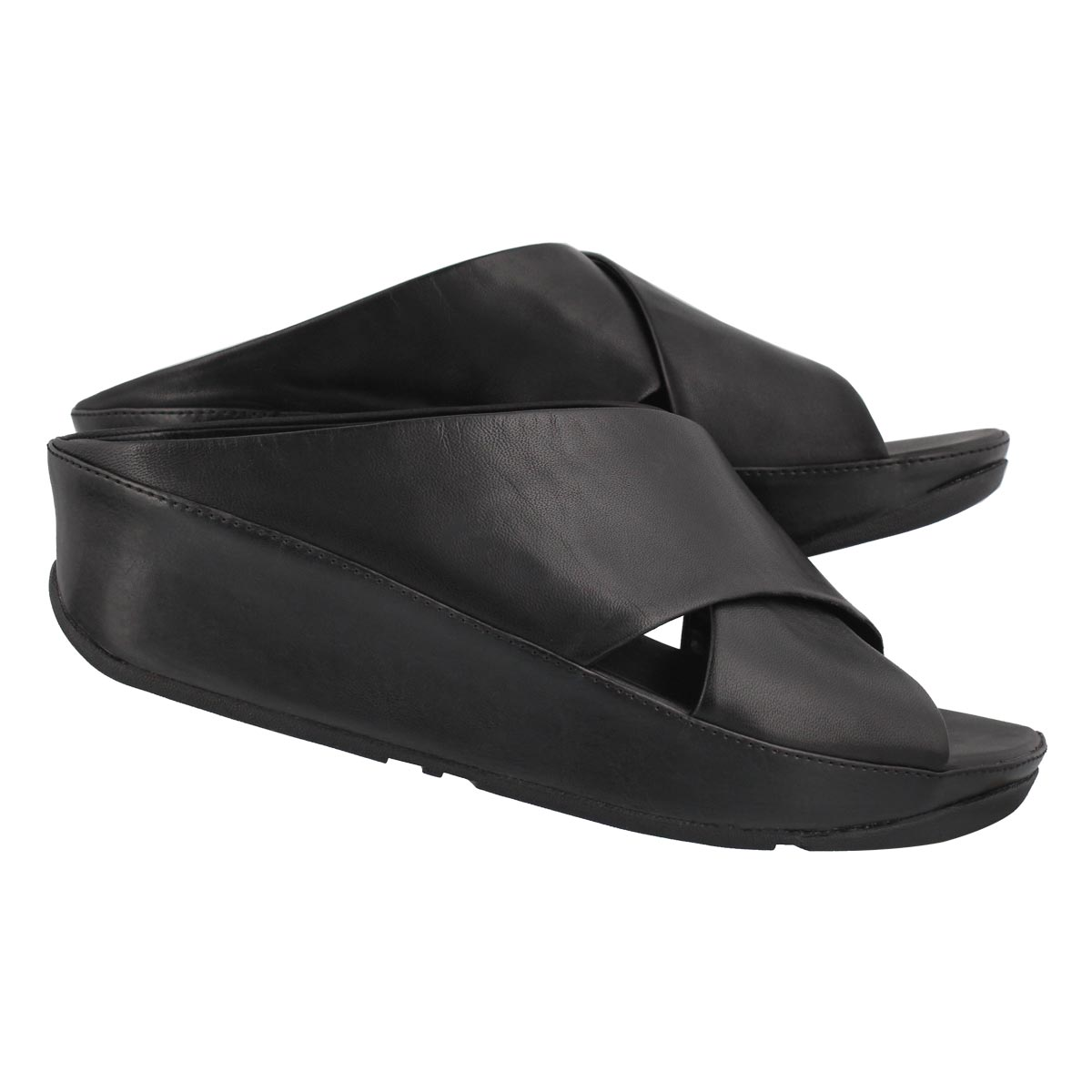Lds Kys black slide sandal