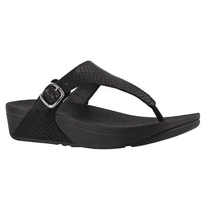 Lds Skinny snake side buckle thng sandal