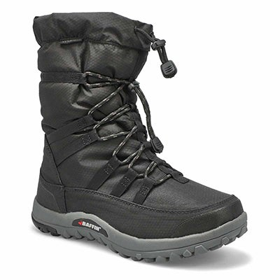 Mns Escalate bk wtpf slip on winter boot