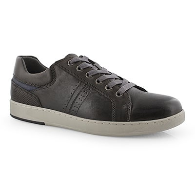 Mns Ebbing dk gry lace up casual sneaker