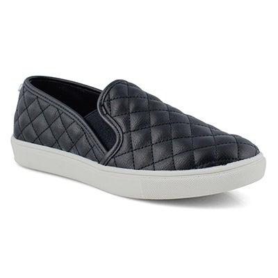 Lds Ecentrcq black casual slip on shoe