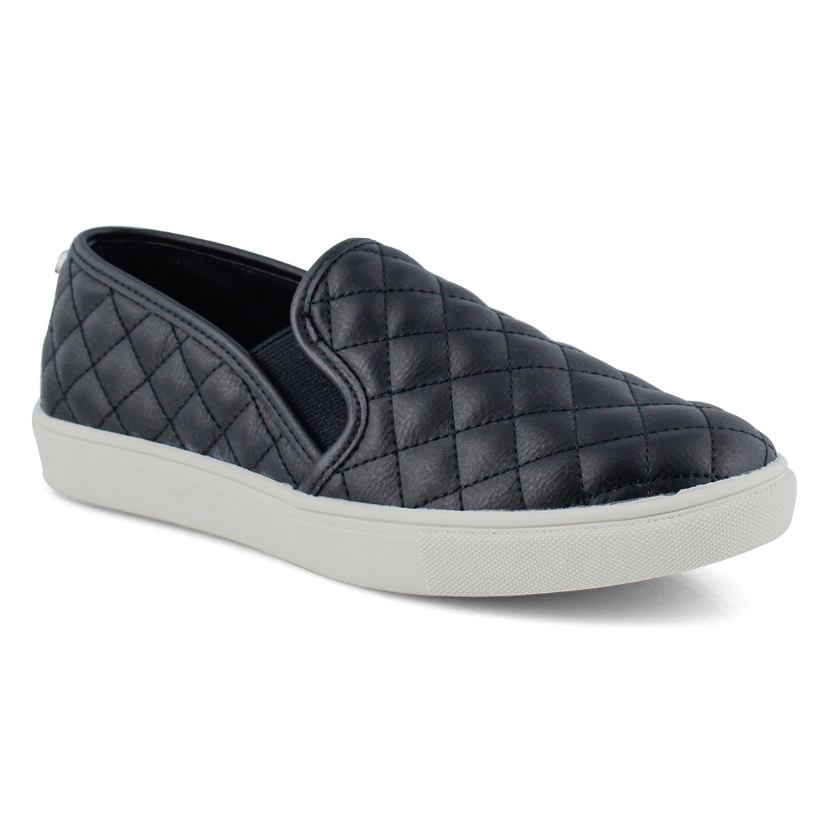 Women's ECENTRCQ black casual slip on shoes