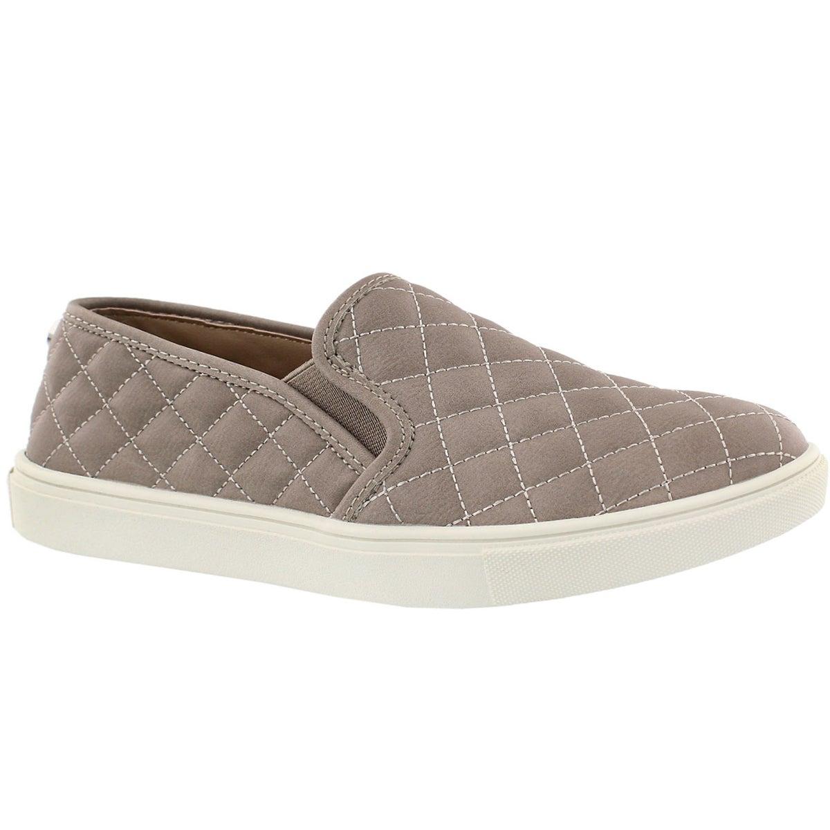 Women's ECENTRCQ grey casual slip on shoes