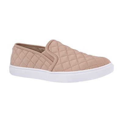 Lds Ecentrcq pink casual slip on shoe