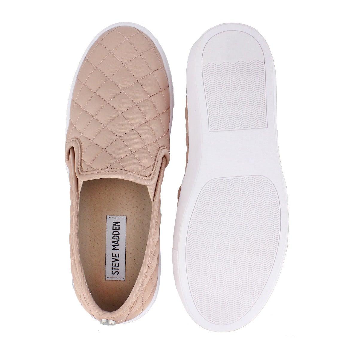 Lds Ecentrcq pink casual slip on shoe
