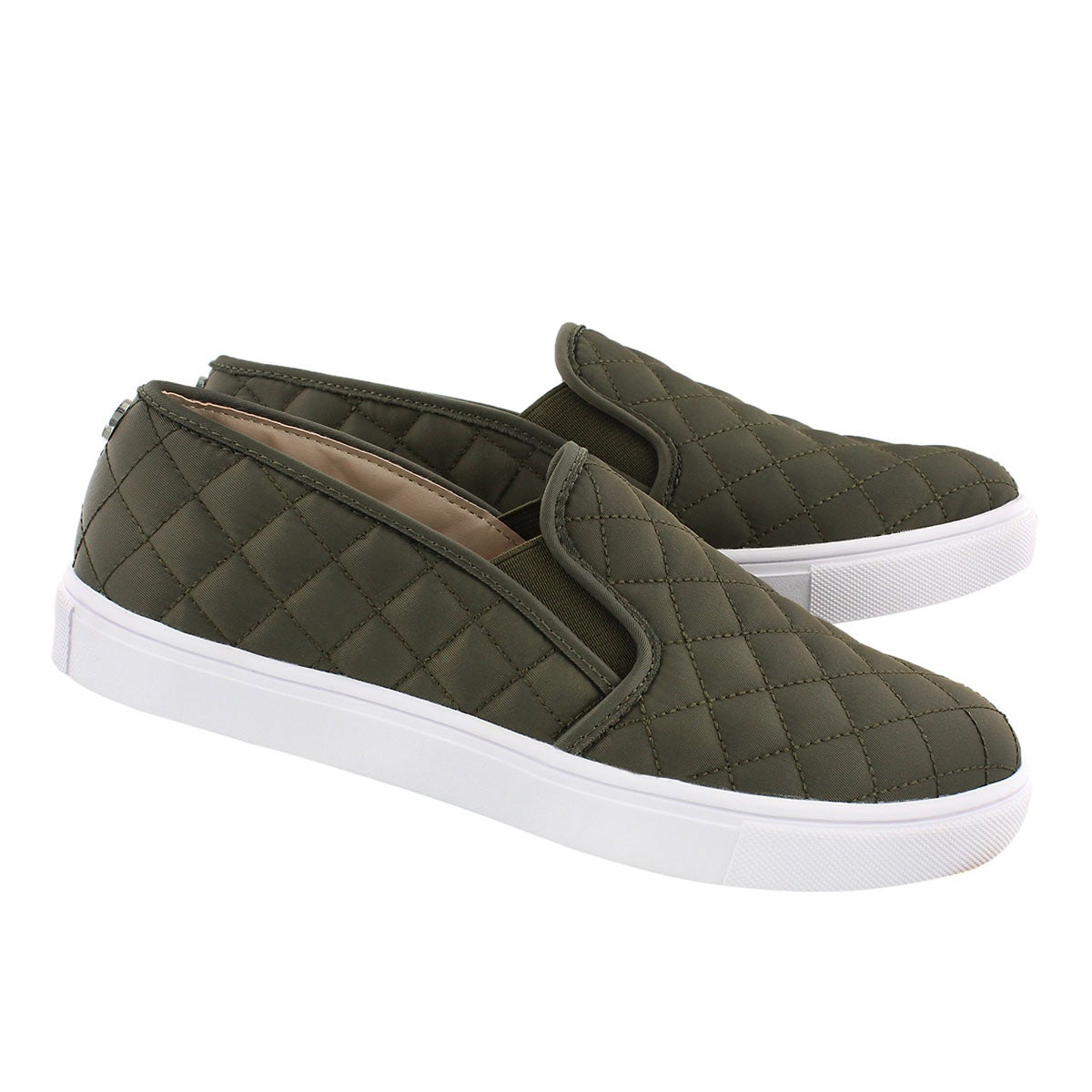 Lds Ecntrcqt olive casual slip on shoe
