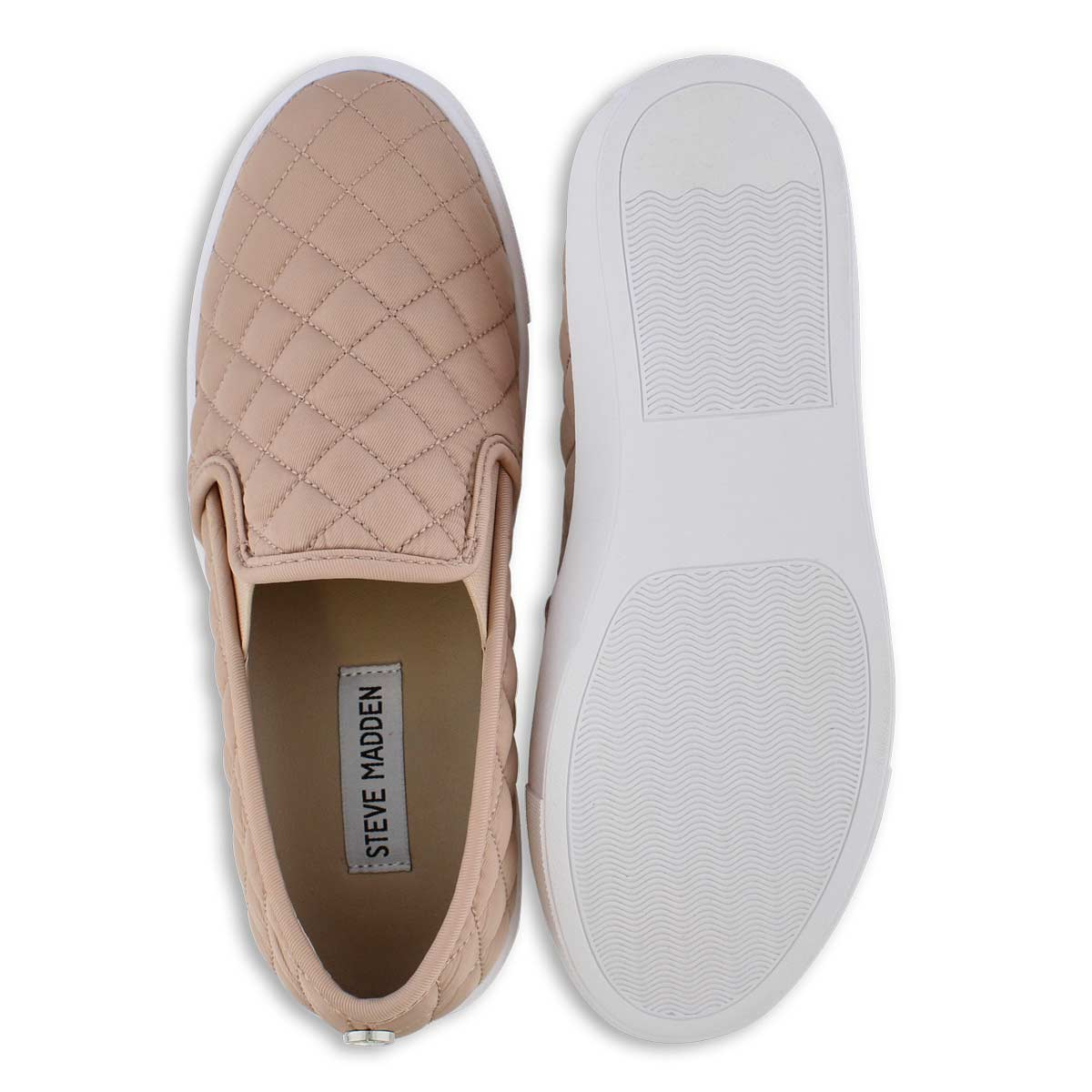 Lds Ecntrcqt pink casual slip on shoe