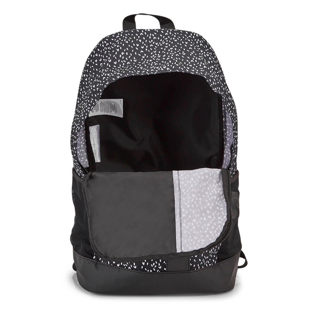 Adidas LIN BP GR blk/wht backpack