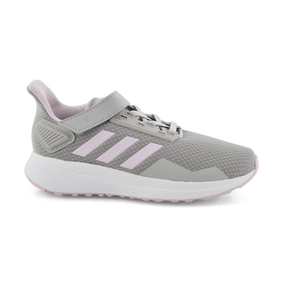 Girls' DURAMO 9 C grey pink runners