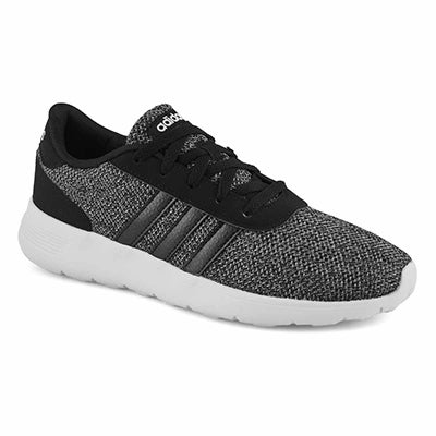 Mns Lite Racer black running shoe