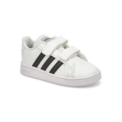 Inf Grand Court I wht/blk sneaker
