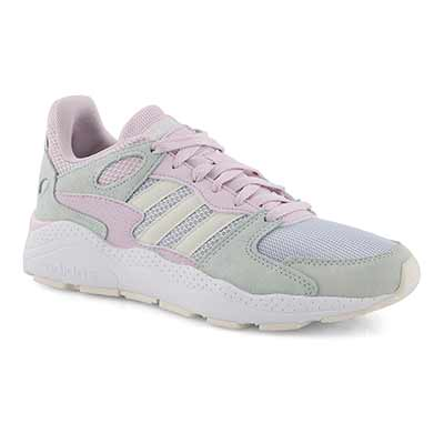 Lds Chaos blue/pink lace up sneaker