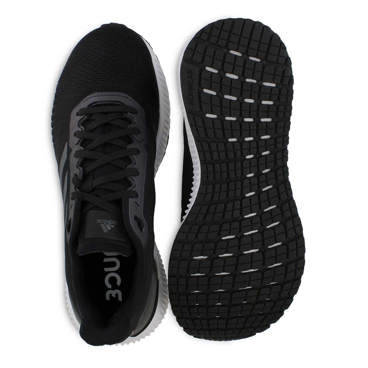 Lds Solar Ride W bk/gry/wht running shoe