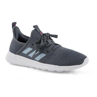 Lds Cloudfoam Pure onix/gry running shoe