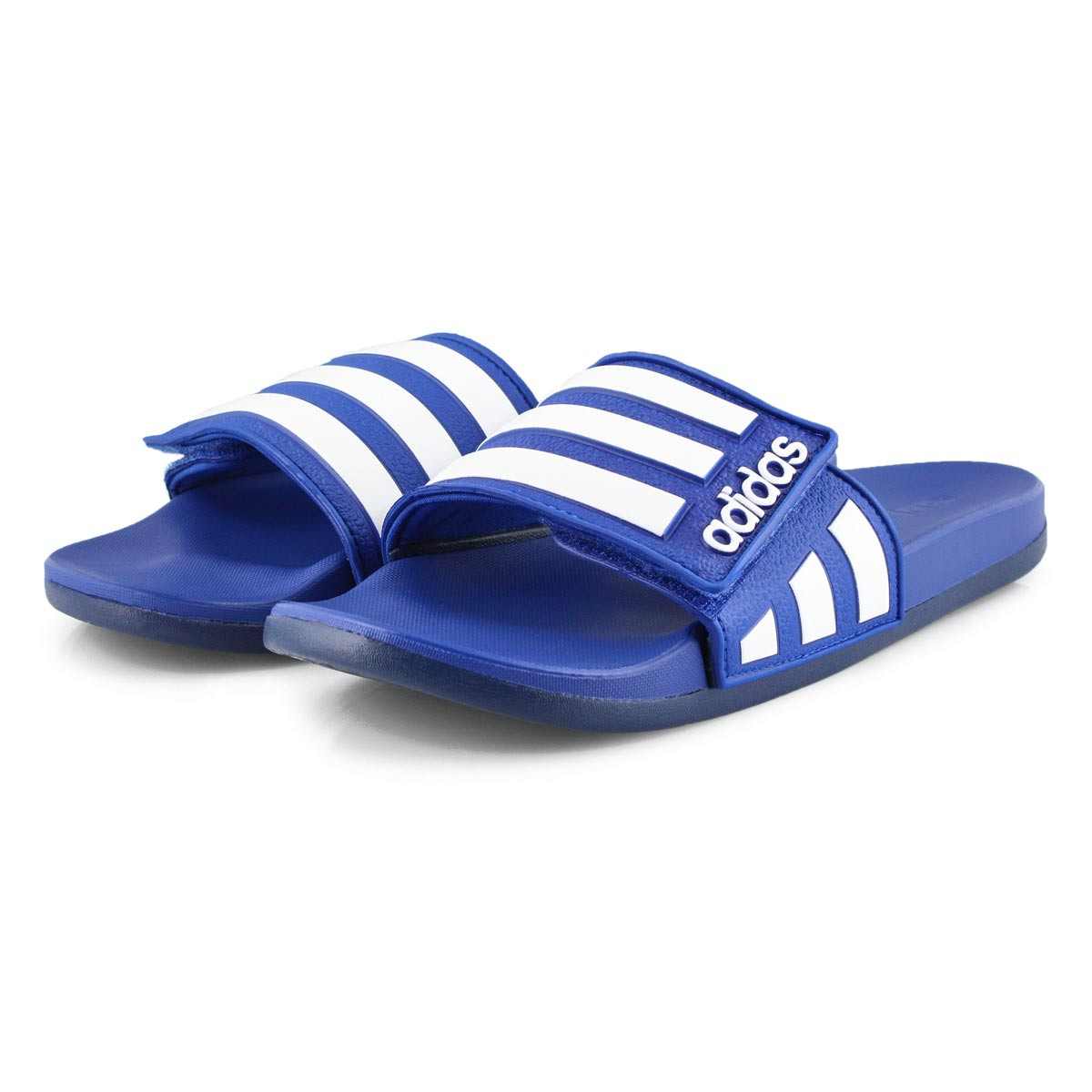 Mns Adilette Comfort ADJ blu/wht sandal