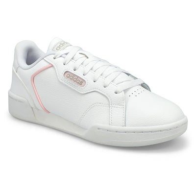 Lds Roguera white lace up sneaker