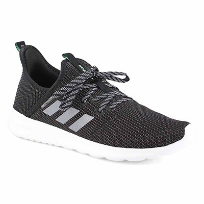 Lds Cloudfoam Pure blk/wht running shoe