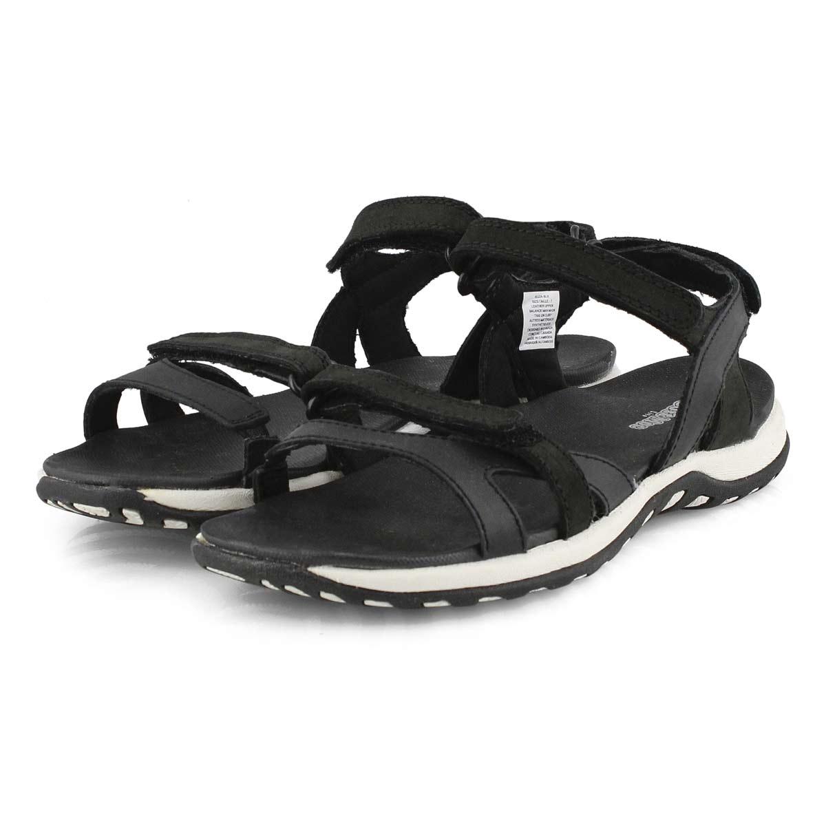 Lds Eliza black sport sandal