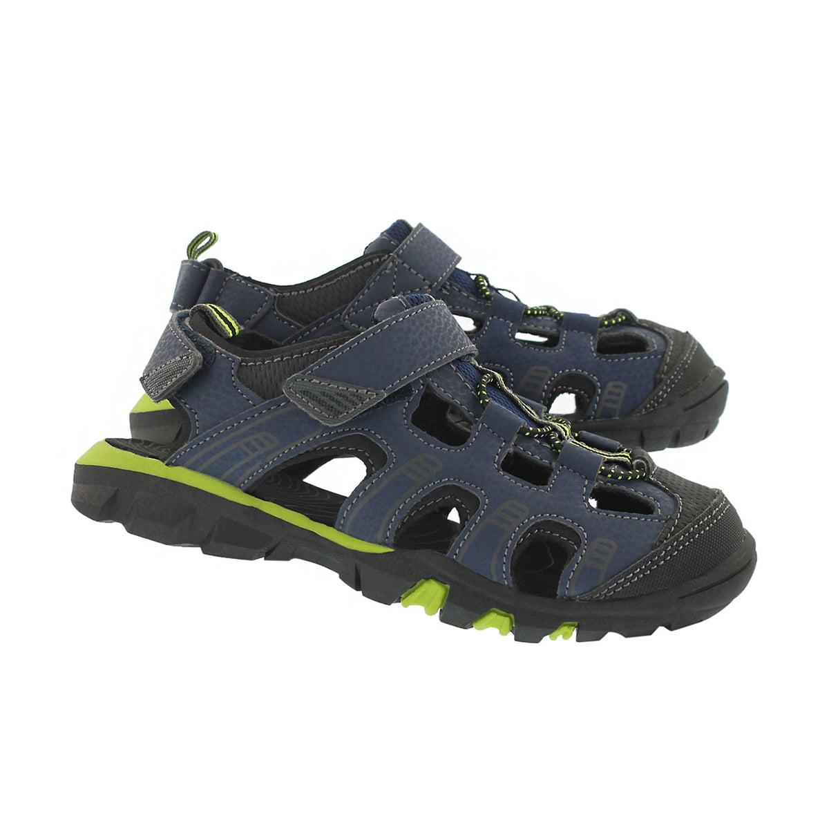 Bys Elliot 2 navy closed toe sandal