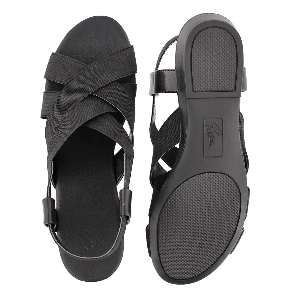 Lds Eloise black casual sandal