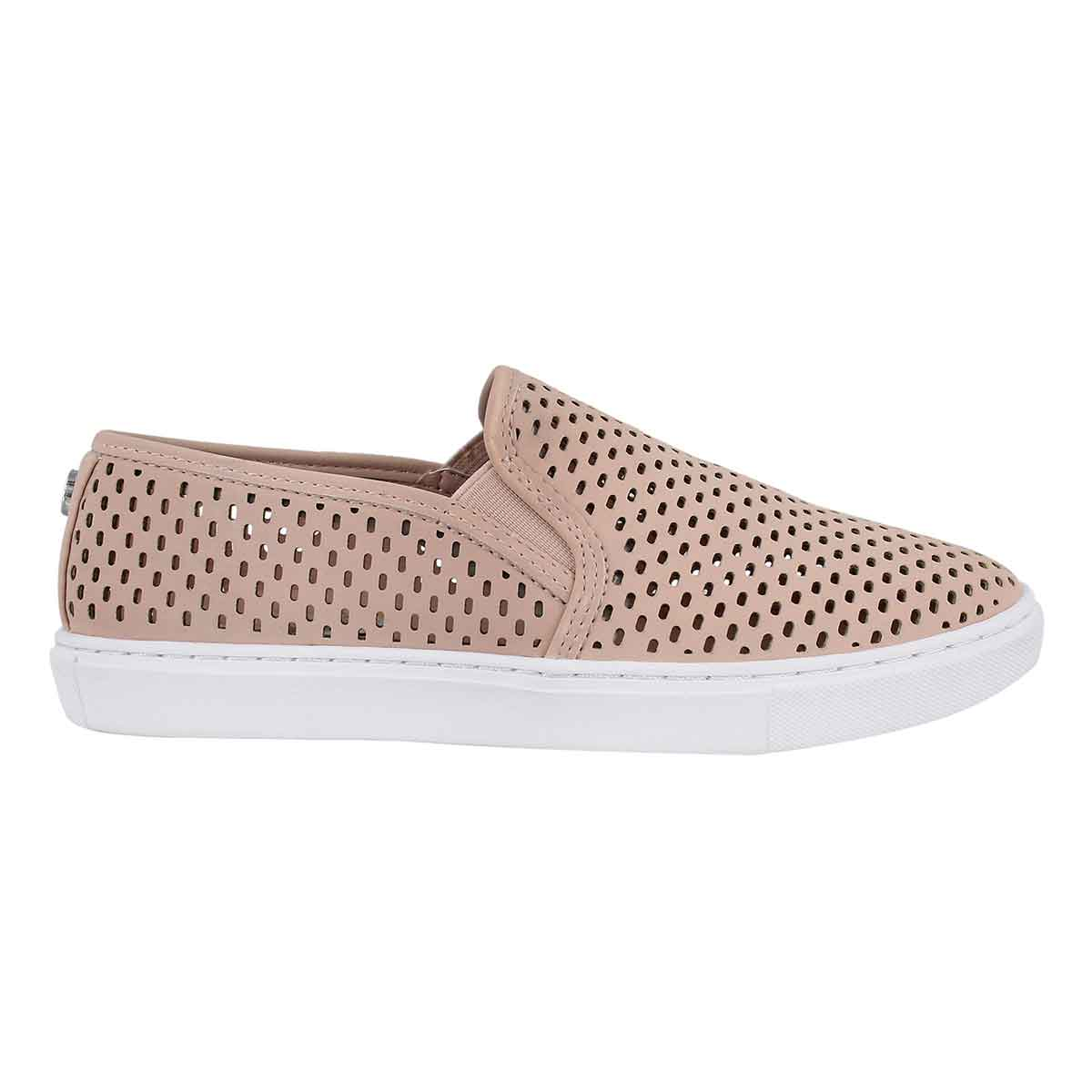 Lds Elouise pink casual slip on shoe