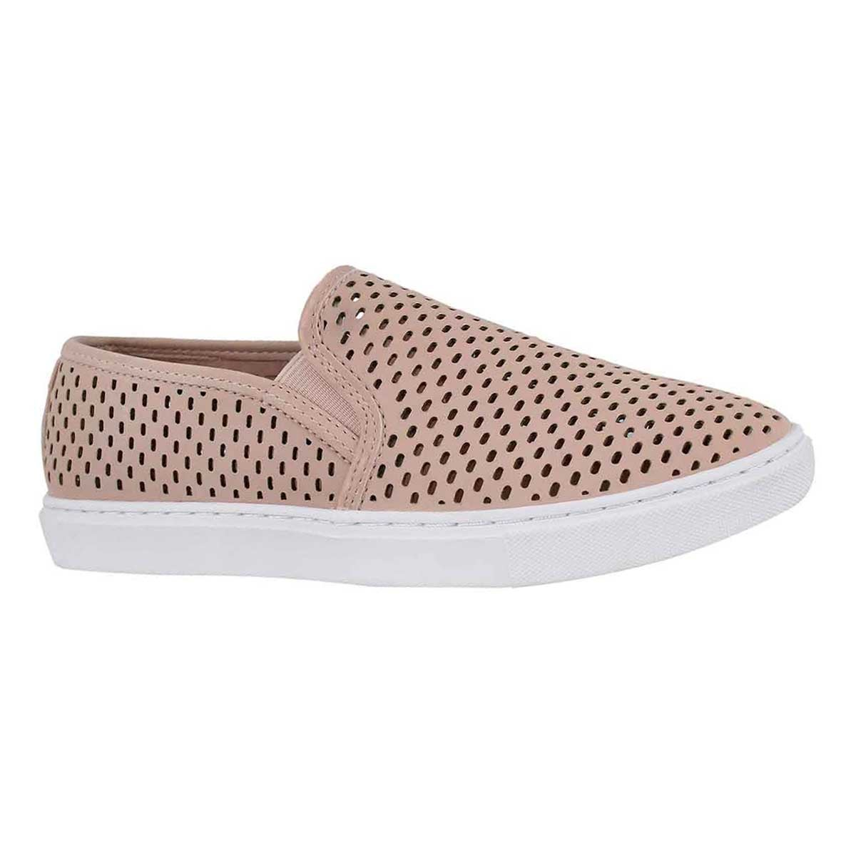 Women's ELOUISE pink casual slip on shoes