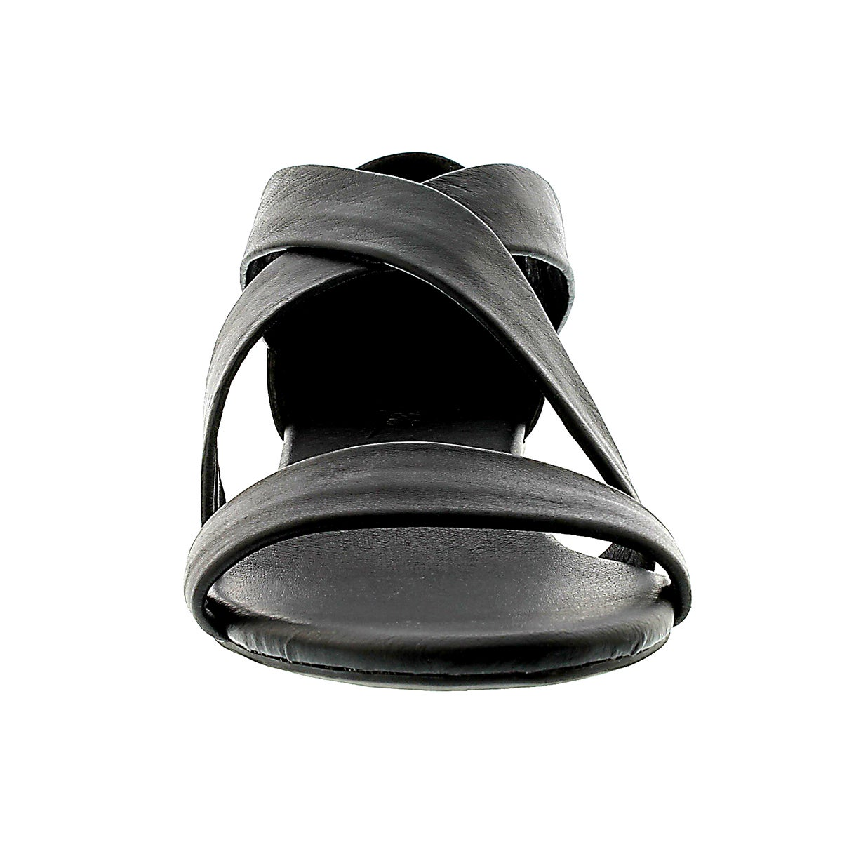 Lds Emilia black leather sandal