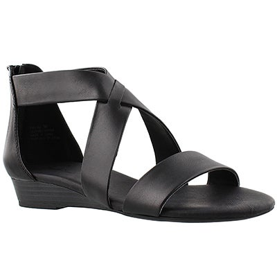 SoftMoc Women's EMILIA 2 black memory foam sandals