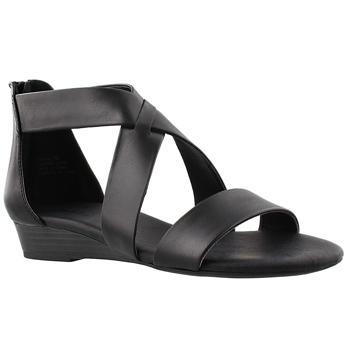 Women's EMILIA 2 black memory foam sandals