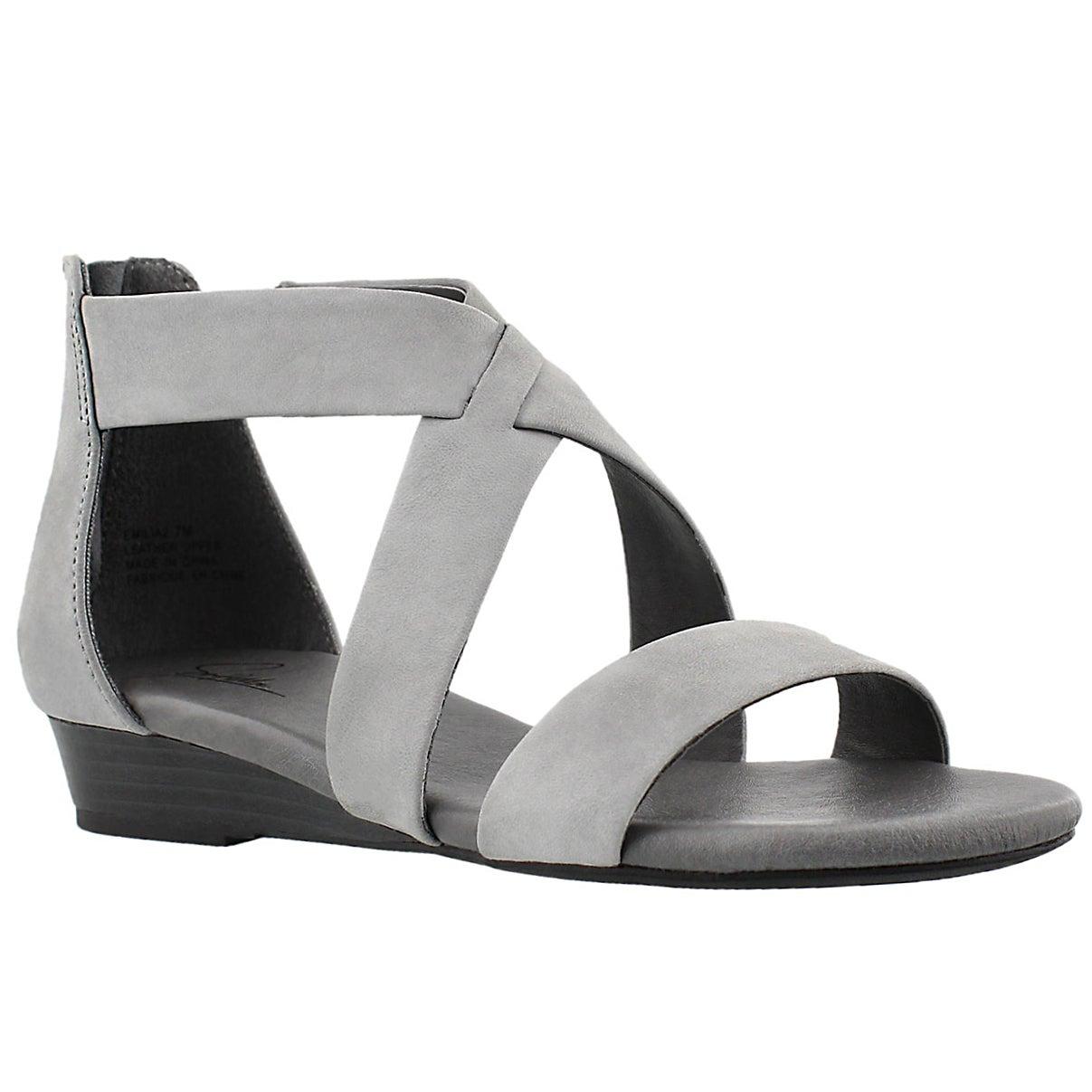 Lds Emilia 2 gry mem. foam sandal