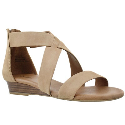 SoftMoc Women's EMILIA 2 sand memory foam sandals