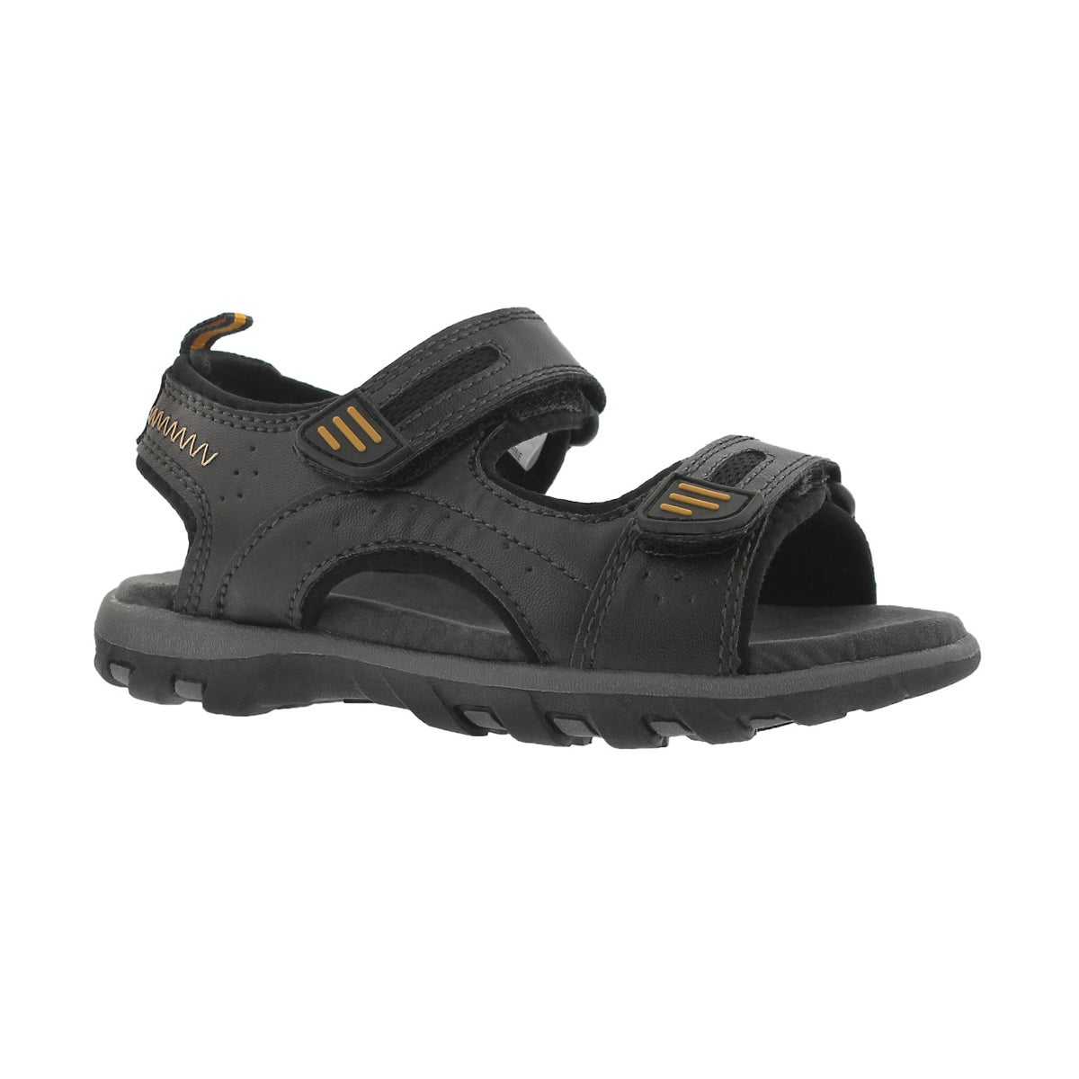 Boys' EMMETT 2 black 2 strap sport sandals