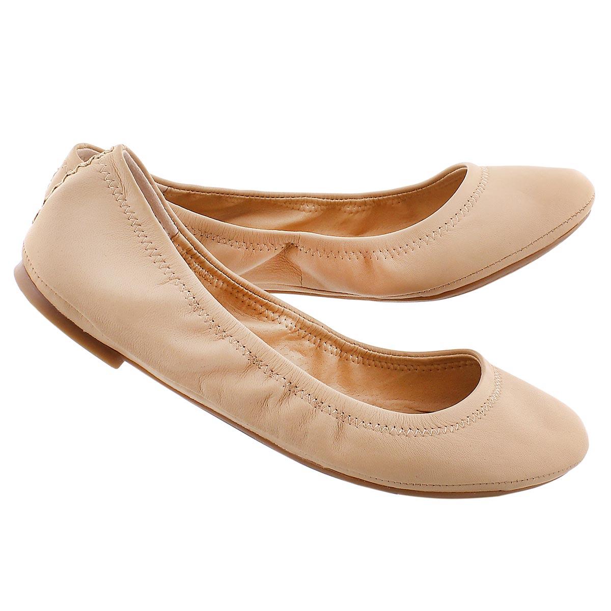 Lds Emmie nude ballerina flat