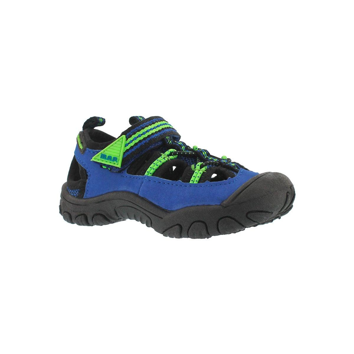 Infants' EMMONS black/blue fisherman sandals