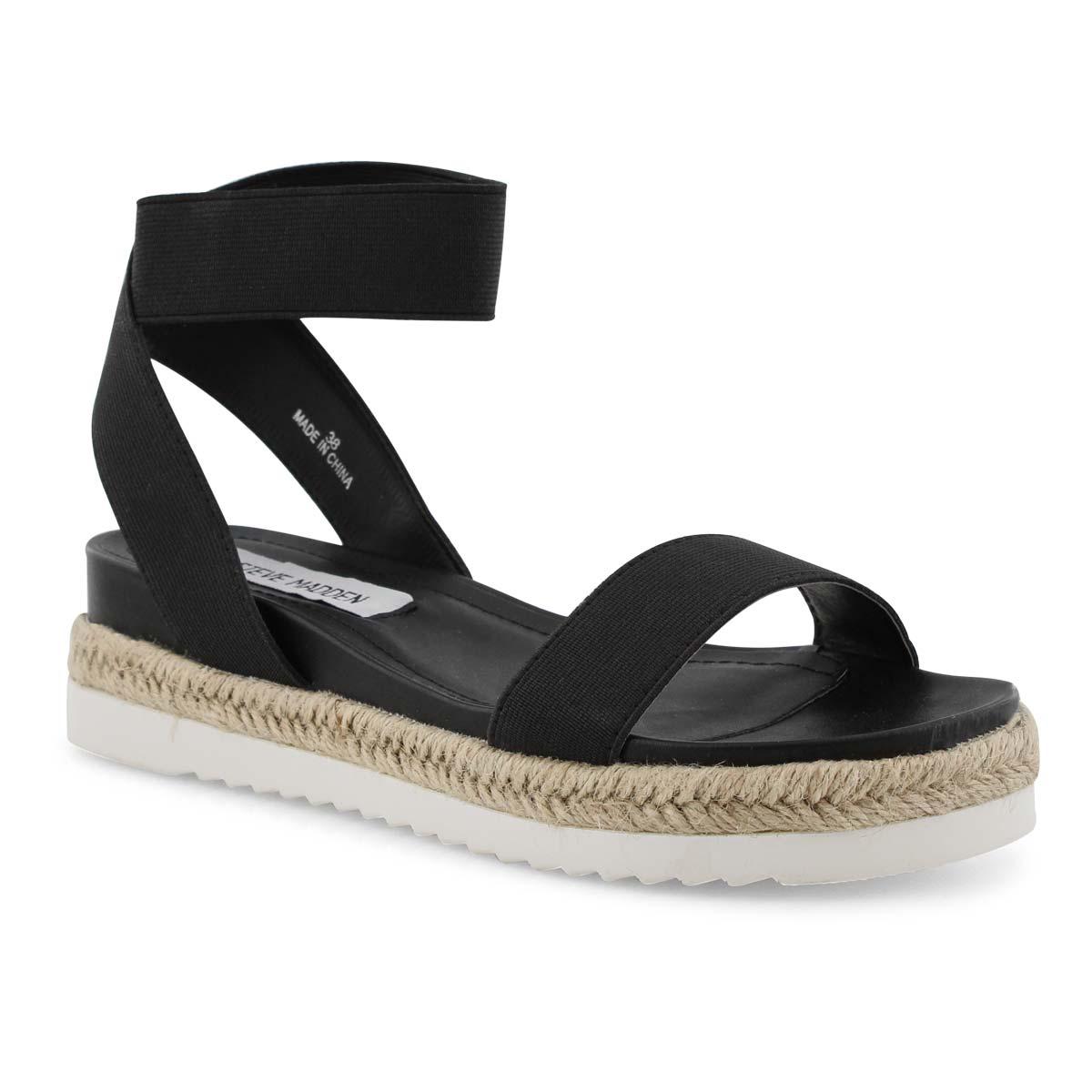 Lds Energyy black wedge sandal