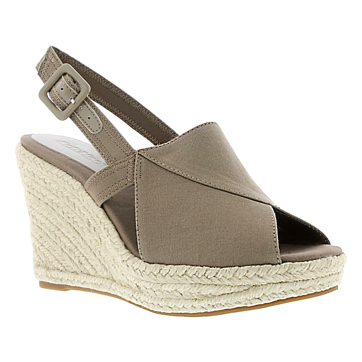 Lds Enya beige wedge sandal