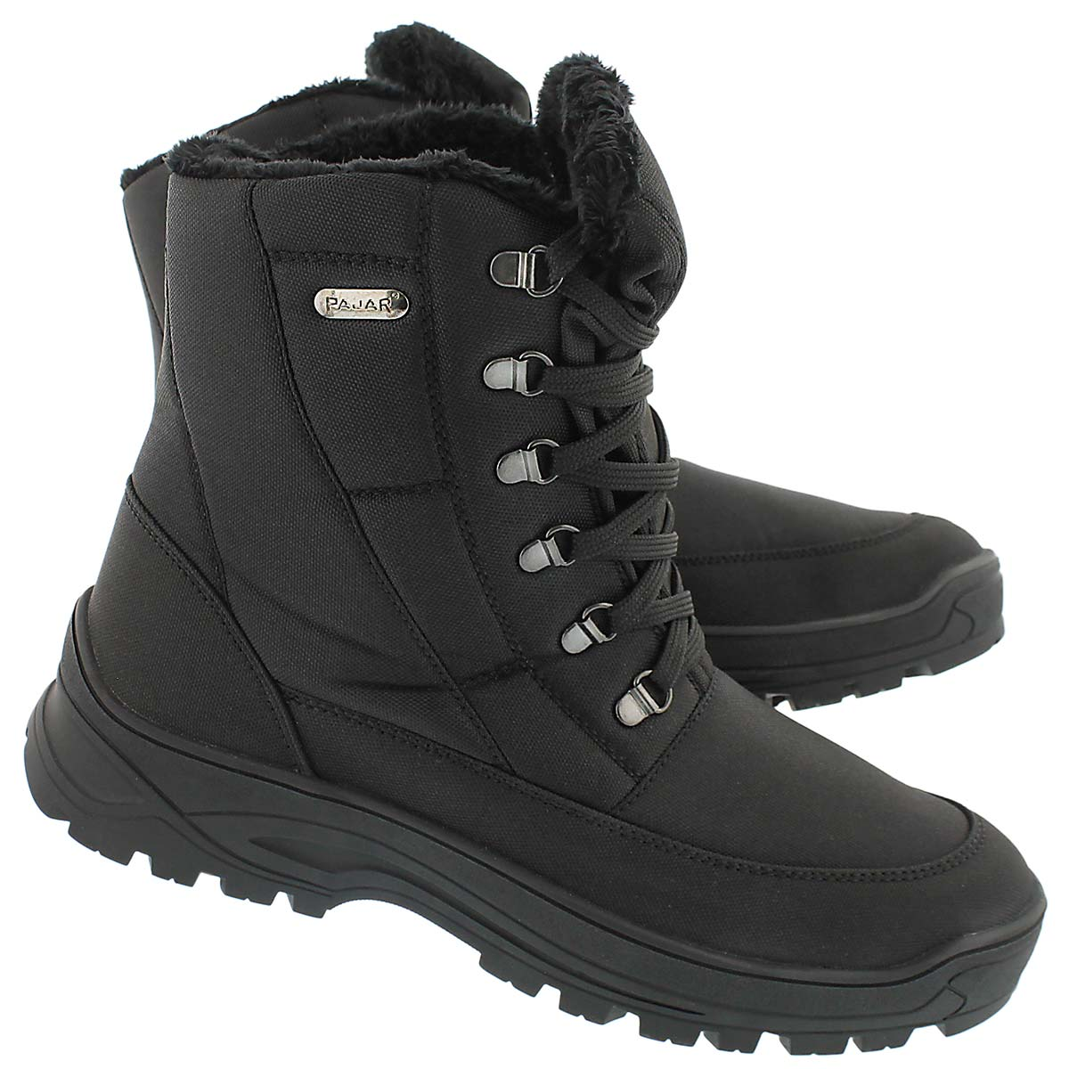 Mns Eric black lace up wtpf wntr boot
