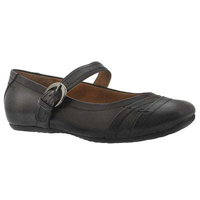 Lds Ester blk leather mary jane