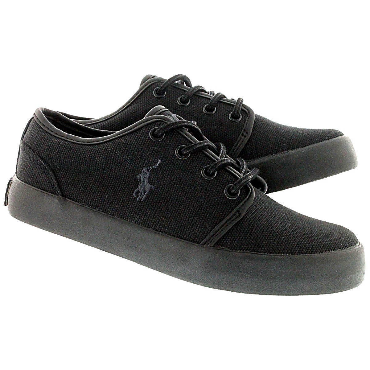 Bys Ethan Low black lace up sneaker