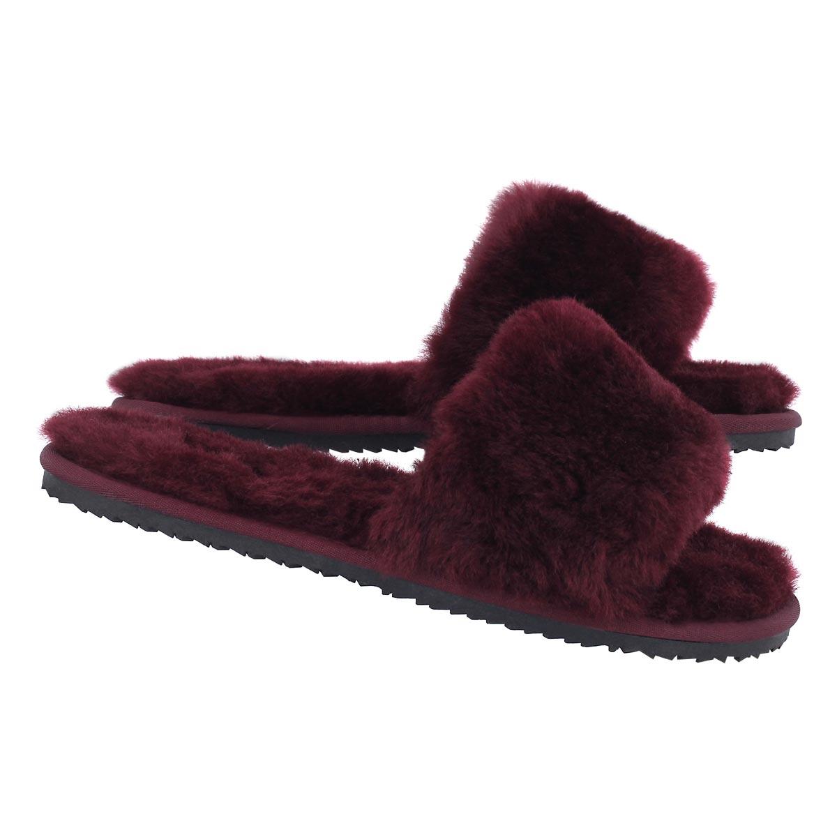 Lds Eugenie bgdyshearliing slide slipper