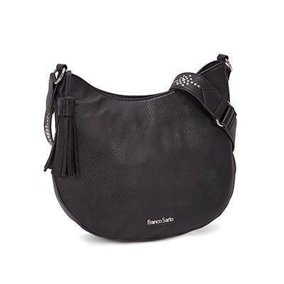 Franco Sarto Women's EVA black cross body bag