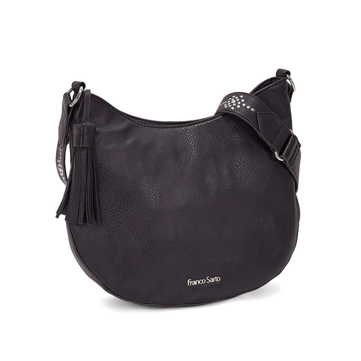 Lds Eva black cross body bag