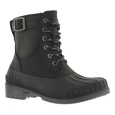 Lds Evelyn blk waterproof winter boot