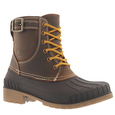 Kamik Women's EVELYN dark brown waterproof winter boots