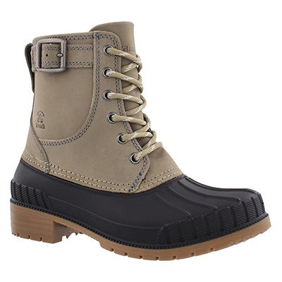 Kamik Women's EVELYN taupe waterproof winter boots